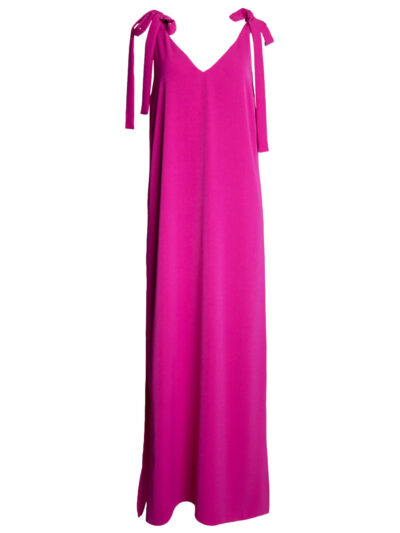 Fuchsia maxi dress packshot